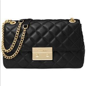 MK Sloan Large Quilted Leather Shoulder Bag